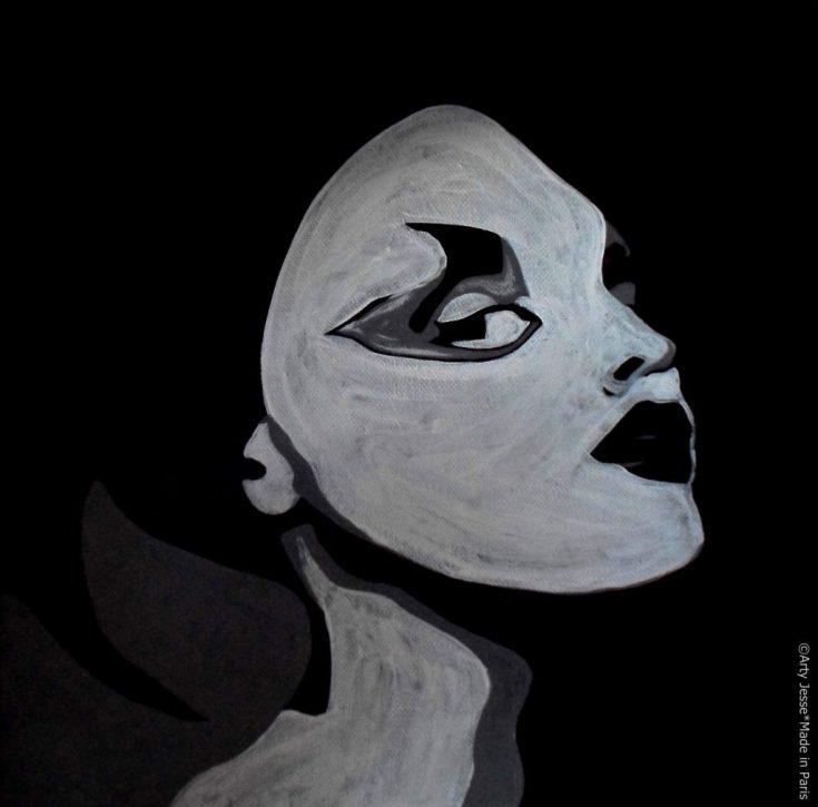 artiste peintre paris, pop art paris, insolente peinture, cheeky painting