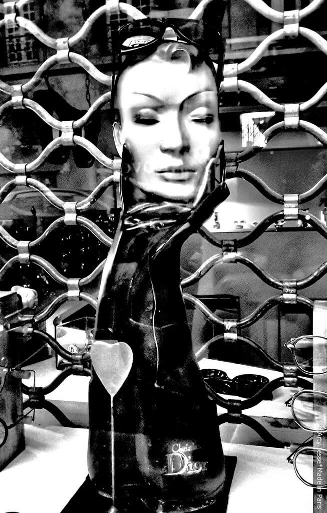 artiste peintre paris, photographie, paris pictures, beautiful bizarre, vitrine paris, reflection