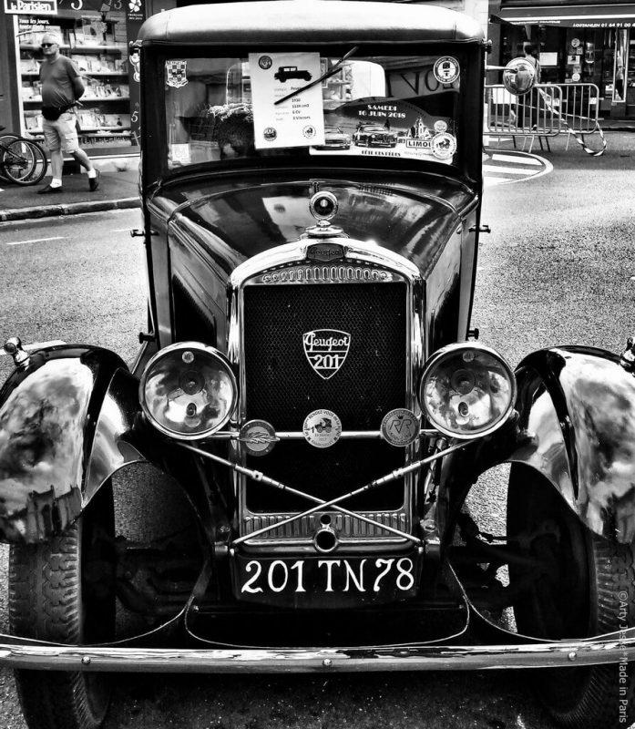 artiste peintre paris, photographie, paris pictures, beautiful bizarre, retro car, peugeot 201