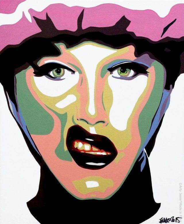 artiste peintre paris, drag queen, drag art, sharon needles