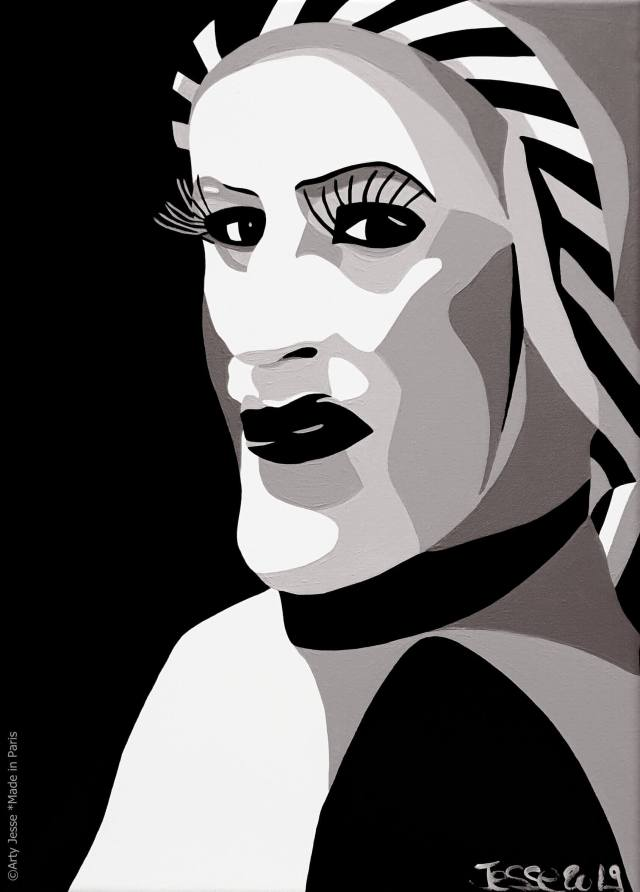 artiste peintre paris, sisters of perpetual indulgence, drag queen art, couvent de San Francisco