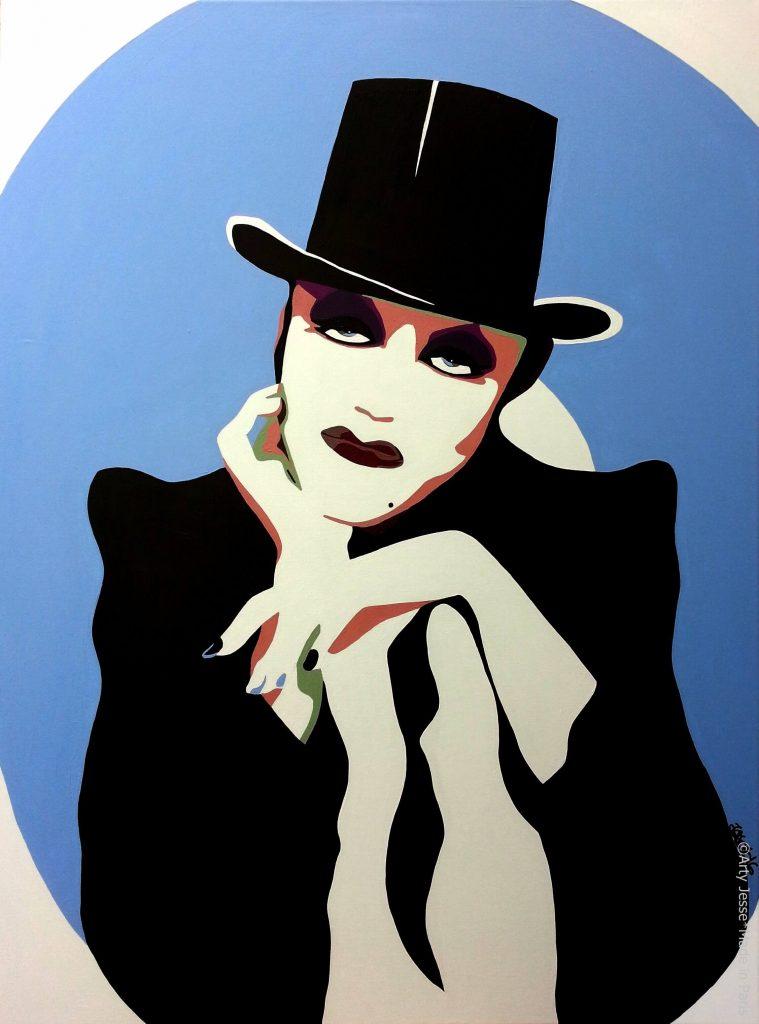 artiste peintre paris, drag queen, drag art, tammie brown
