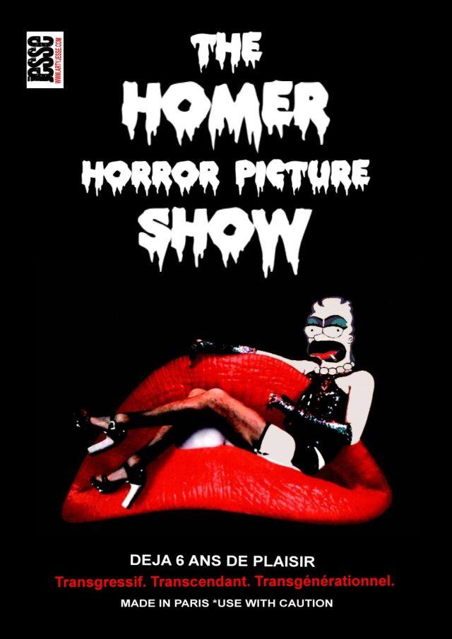 rocky horror picture show painting, artiste peintre paris, pop art, homer simpson painting, expo paris