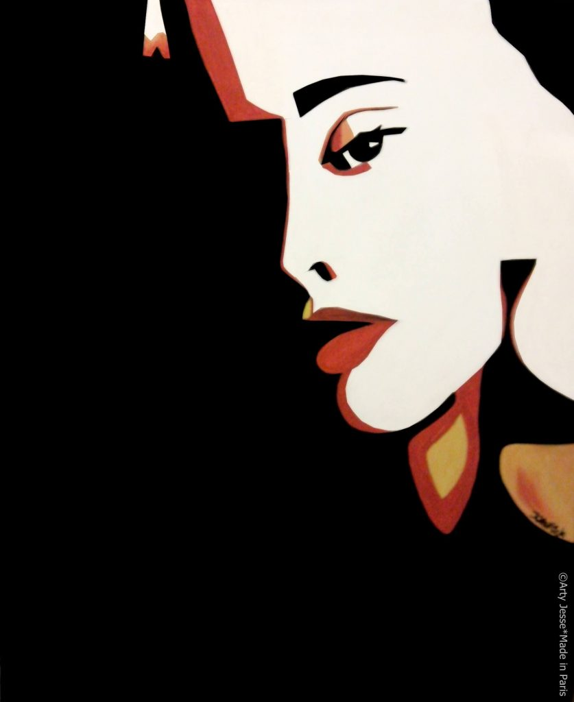 artiste peintre paris, pop art paris, drag queen painting, travesti peinture