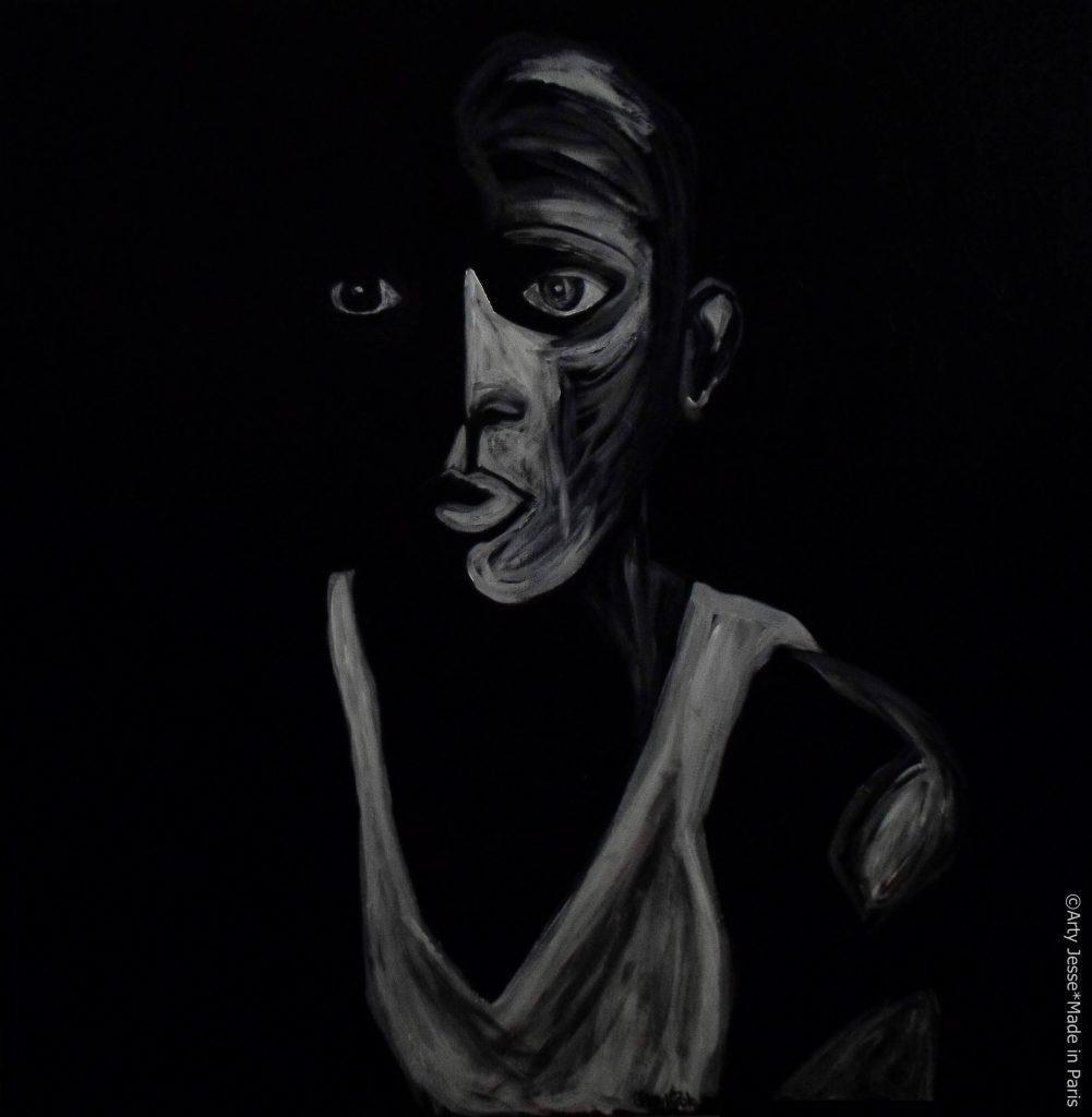 artiste peintre paris, pop art paris, black lives matter painting, blm art