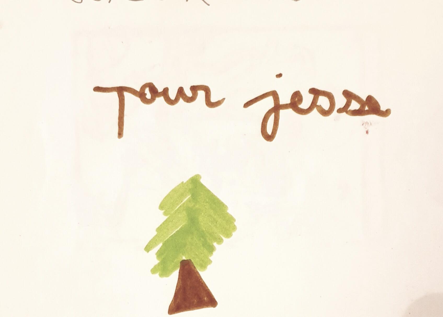 artiste intervenante paris, christmas card, kids craft, carte de voeux