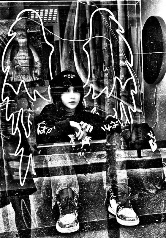 artiste peintre paris, photographie, paris pictures, beautiful bizarre, skateboard girl, rideuse