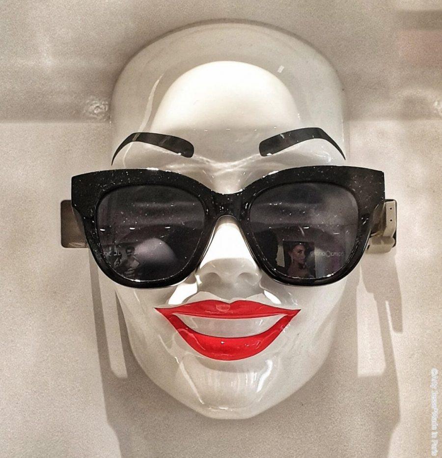 artiste peintre paris, picture, sunglasses, reflection