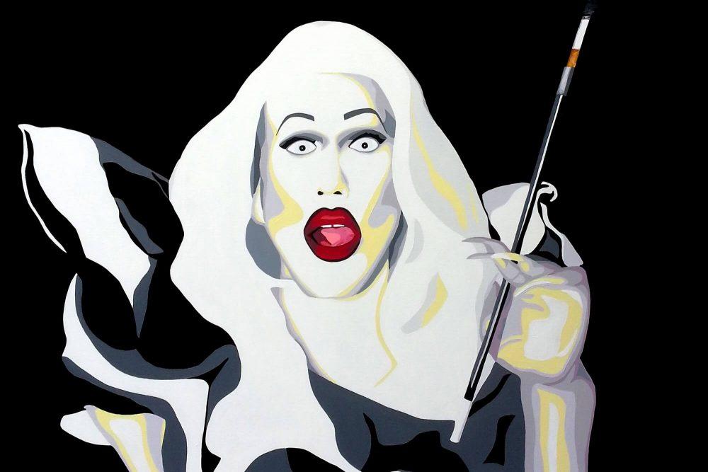 drag queen art, arty jesse, artiste peintre paris