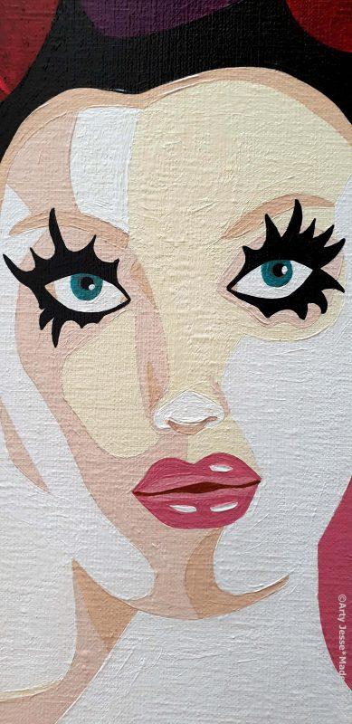 arty jesse, artiste peintre paris, pop art paris, art blog, circus art,