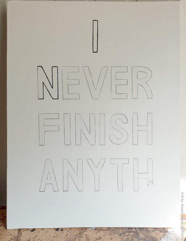 arty jesse, artiste peintre paris, pop art paris, art blog, calligraphie, oeuvre de commande
